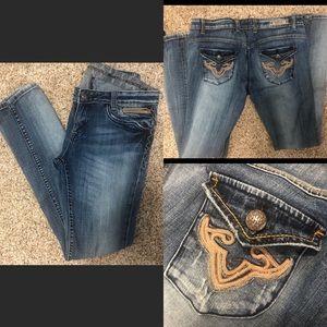 Express Re Rock Skinny Jeans Size 8